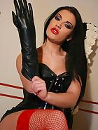 Sexy Mistress Honey loves to tease