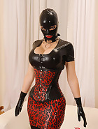 Latex Lady of Mystery