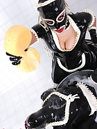 Hooded Rubber Maids