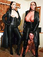 Dominant Emma Butt and Fetish Liza