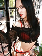 Gothic Lingerie Queen