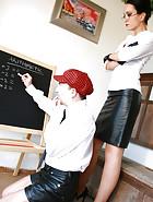 Strict Teacher Punishes
