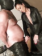 Cum for your leather Dommes, pt.2