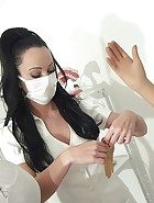 Tormented dental slave