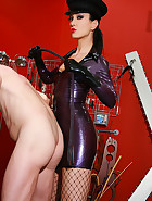 Strict and cruel rubber Mistress, pic #13