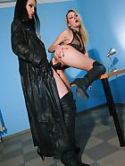 Slave girl gets interviewed for job, pic #13