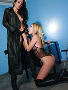 Slave girl gets interviewed for job, pic #7