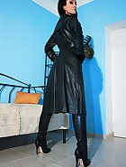 Wearing leather gets me so horny, pic #11