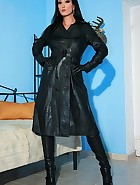 Wearing leather gets me so horny, pic #7