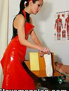 Kinky and deep anal examination, pic #1