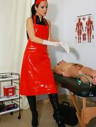 Kinky and deep anal examination, pic #2