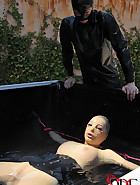 Lucy in the Water with Latex, pic #14