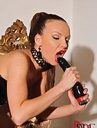 Elegant Mistress masturbates, pic #12