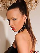 Elegant Mistress masturbates, pic #4
