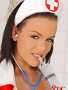 Naughty nurse and the needle dick, pic #7