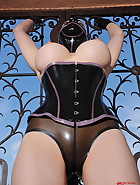 The latex avenger strikes again, pic #2