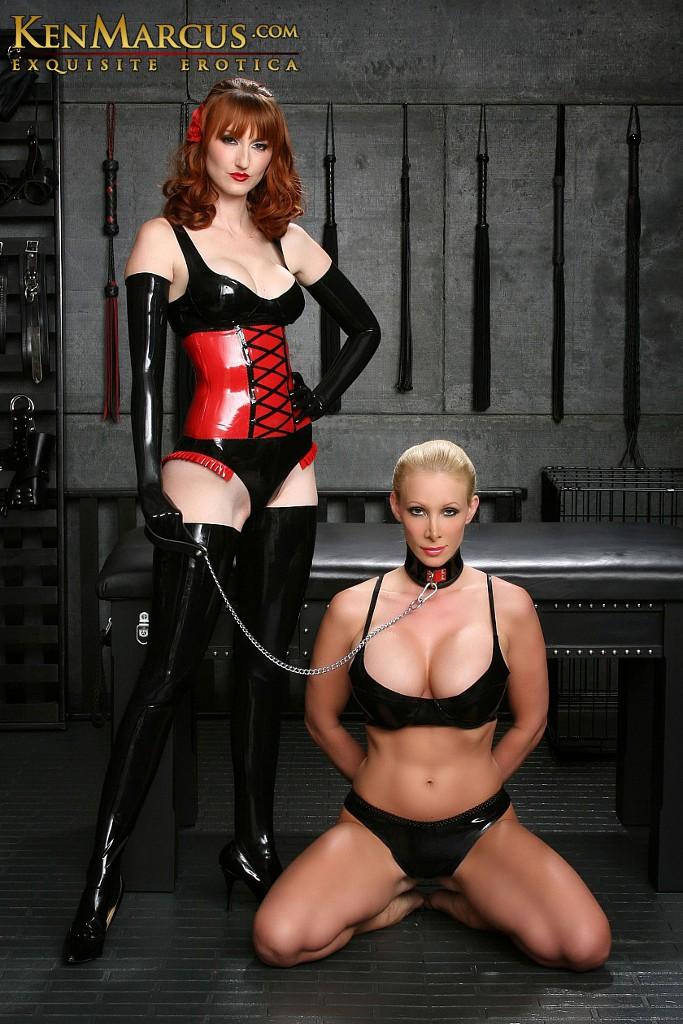 Lesbian Mistress Bondage Latex