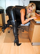 Long Leather Boots, pic #3