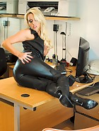 Long Leather Boots, pic #6