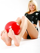 Red ball fetish, pic #8