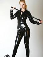 Black catsuit, pic #1