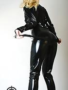 Black catsuit, pic #3