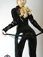 Black catsuit, pic #4