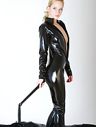 Black catsuit, pic #6