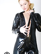 Black catsuit, pic #8