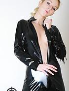 Black catsuit, pic #10