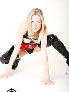 Flexi girl in latex, pic #12