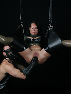 Suspended Anal Fisting, pic #1