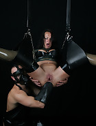 Suspended Anal Fisting, pic #13