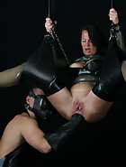Suspended Anal Fisting, pic #5
