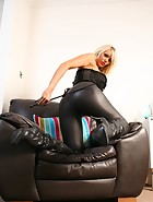 Latex leggings, pic #9