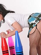 Latex Schoolgirl, pic #2