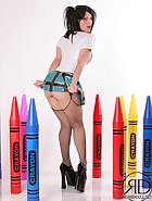 Latex Schoolgirl, pic #6