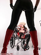 Girl-Girl Rubber Domination, pic #2