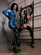 Rubber Hooded Slave, pic #11