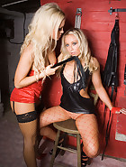 Lesbian Bondage In My Dungeon, pic #2