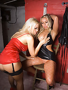 Lesbian Bondage In My Dungeon, pic #3