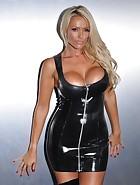 Black PVC Dress, pic #3