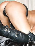 Tight Latex and Leather Boots, pic #6