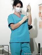 Dentist Shamira loves to tease, pic #4