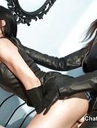 Lesbian Dominas cuckold, pt.2, pic #3