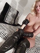 Leather JOI with Linda, pic #3